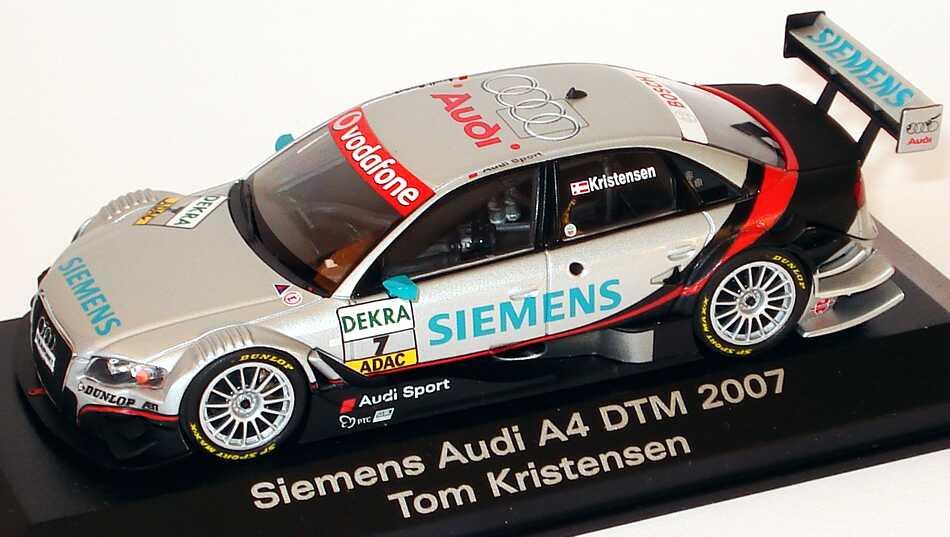 "1:43 Audi A4 DTM 2007 ""Siemens"" Nr.7, Tom Kristensen (Audi)"
