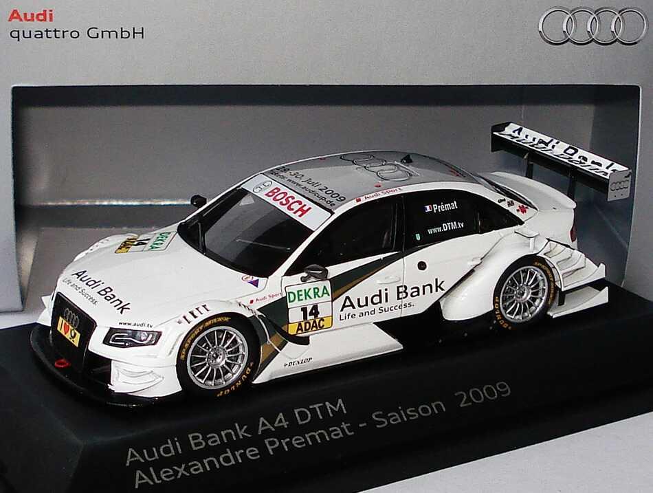 1:43 Audi A4 DTM 2009 (Modell 2008)