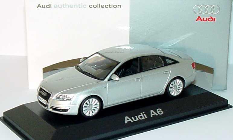 1:43 Audi A6 (C6) lichtsilbermet. (Audi)
