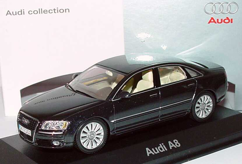 Audi A8 4 2 Quattro D3 Facelift 2005 Phantom Schwarz