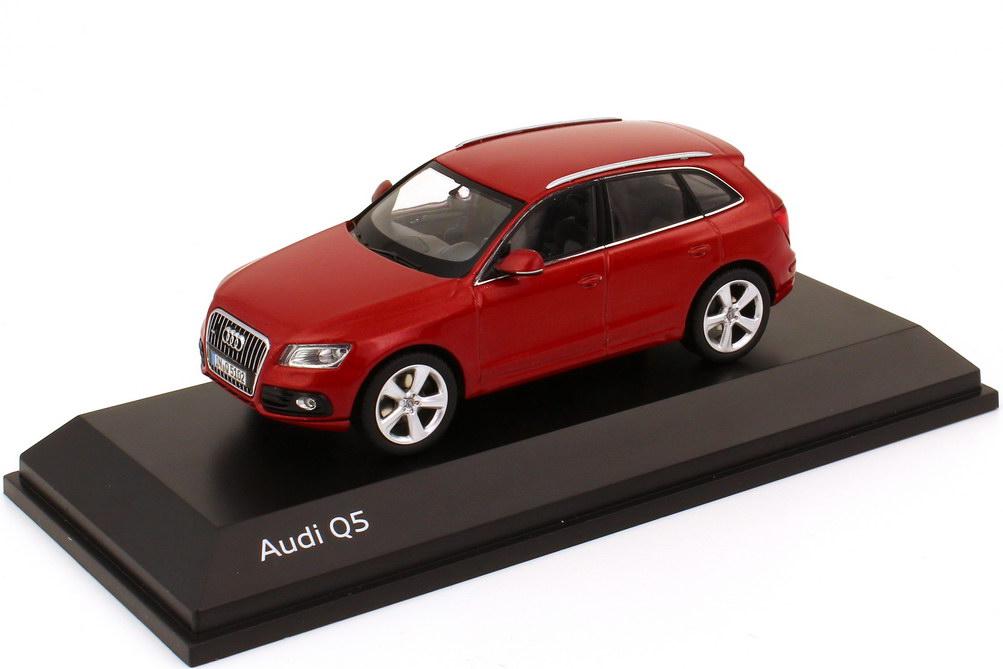 1:43 Audi Q5 Facelift 2012 vulkan-rot-met. (Audi)