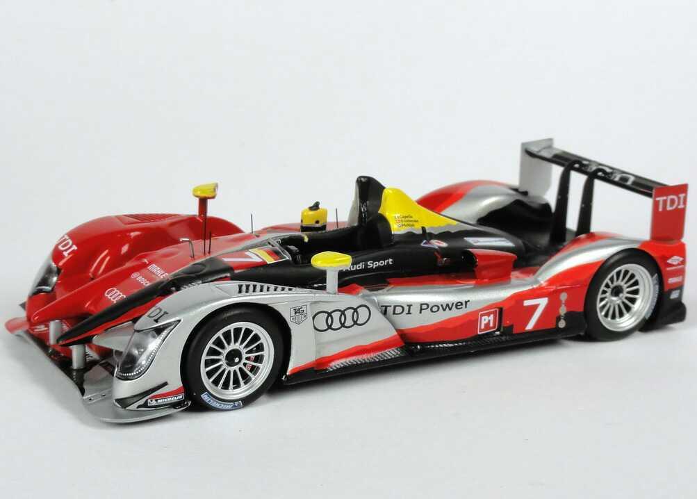 Audi R15+ TDI 24h von Le Mans 2010 Nr.7, Capello / Kristensen / McNish Werbemodell Spark ...