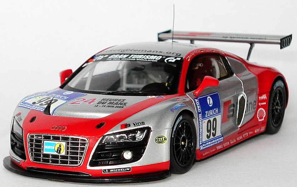 43 audi r8 lms 24 stundenrennen n rburgring 2009 quot phoenix racing s. Black Bedroom Furniture Sets. Home Design Ideas