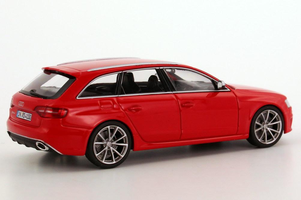 Audi Rs4 Avant B8 Faclift 2012 Misano Rot Werbemodell