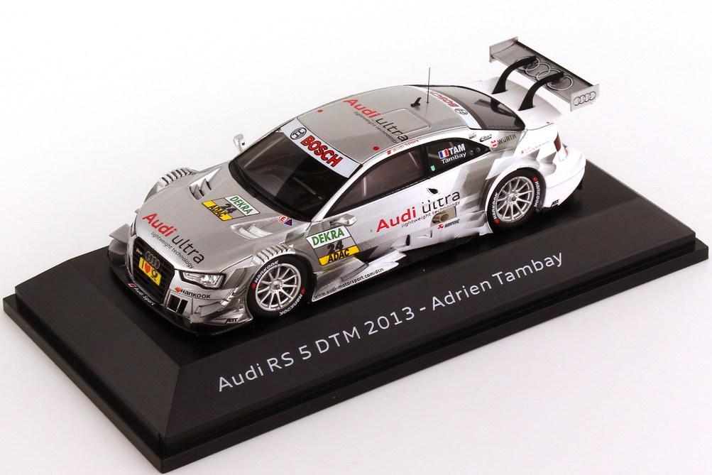 """1:43 Audi RS 5 DTM 2013 """"ABT, Audi ultra"""" Nr.24, Tambay (Audi)"""