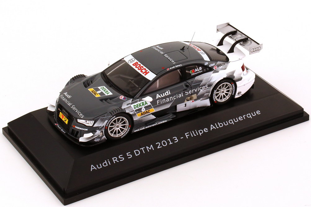 "1:43 Audi RS 5 DTM 2013 ""Rosberg, Audi Financial Services"" Nr.6, Albuquerque (Audi)"