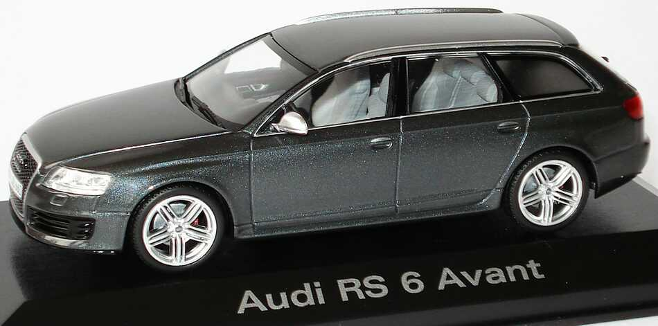 audi rs6 avant c6 daytonagrau met werbemodell. Black Bedroom Furniture Sets. Home Design Ideas