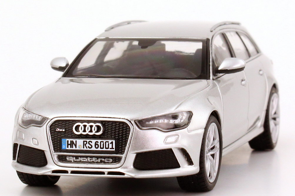 1 43 audi rs6 avant c7 prisma silber silver dealer. Black Bedroom Furniture Sets. Home Design Ideas