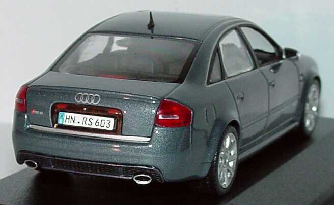 audi rs6 c5 daytonagrau met werbemodell minichamps. Black Bedroom Furniture Sets. Home Design Ideas