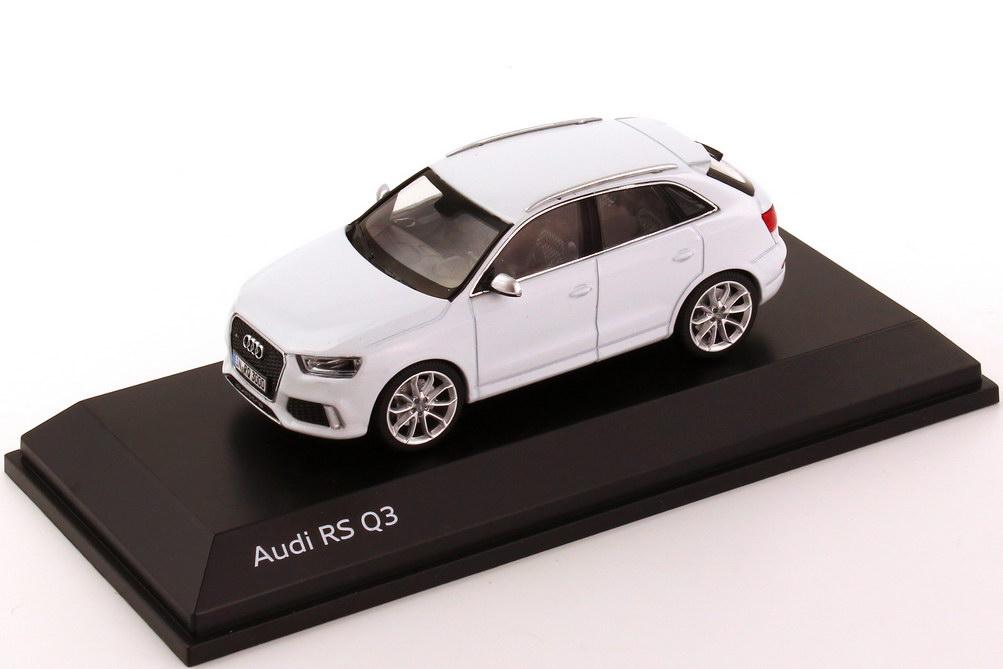 1 43 Audi Rs Q3 Gletscher Wei 223 Werbemodell Schuco 5011313613