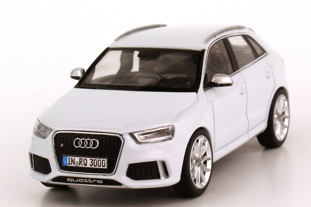 audi rs q3 glacier white white dealer edition schuco 1 43 ebay. Black Bedroom Furniture Sets. Home Design Ideas