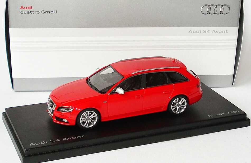 1 43 Audi S4 Avant B8 Misanrot Werbemodell Looksmart
