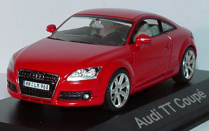 audi tt coup 2006 brillantrot werbemodell schuco. Black Bedroom Furniture Sets. Home Design Ideas