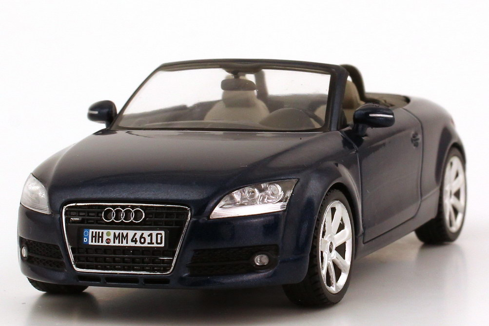 1 43 audi tt roadster 8j 2006 tiefseeblau blau blue dealer edition oem schuco ebay. Black Bedroom Furniture Sets. Home Design Ideas