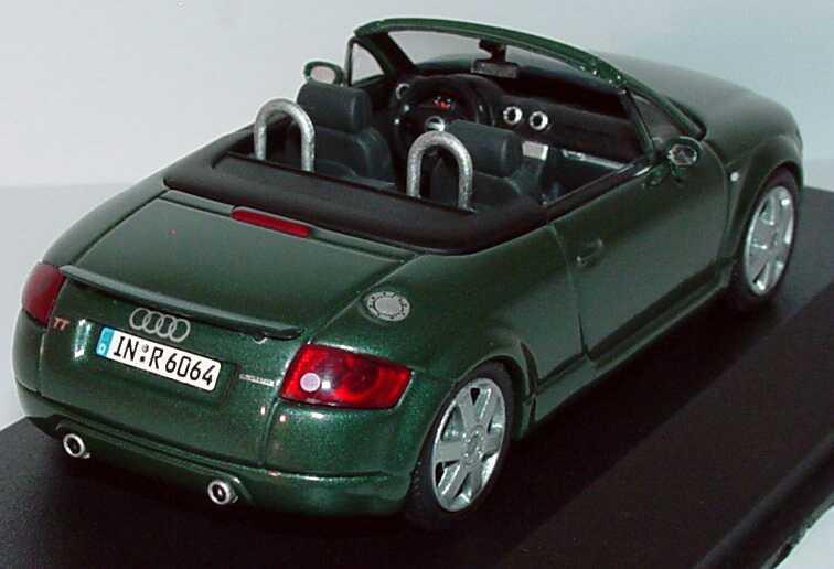 1 43 audi tt roadster 8n with rear spoiler needlegrass. Black Bedroom Furniture Sets. Home Design Ideas