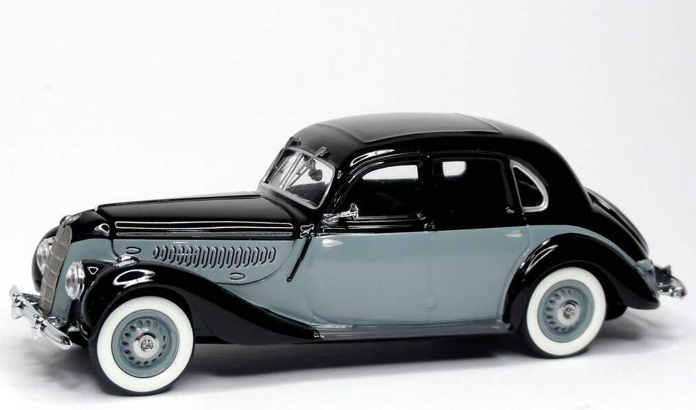 Foto 1:43 BMW 335 Limousine (1939) schwarz/grau Schuco 450223600