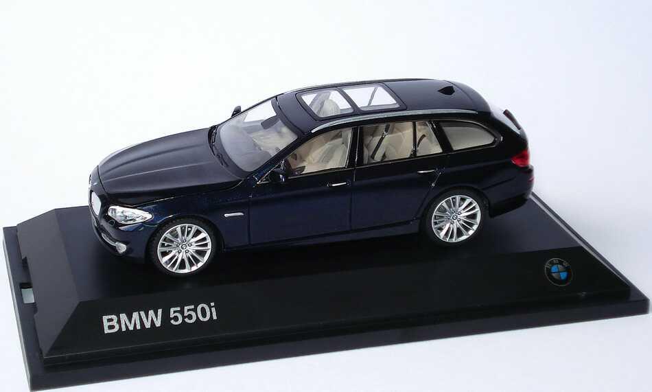 1 43 Bmw 5er 550i Touring F11 Imperialblau Met
