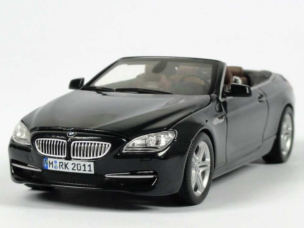1 43 bmw 650i 6er convertible f12 2011 sapphire black. Black Bedroom Furniture Sets. Home Design Ideas