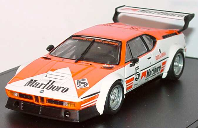 Bmw M1 Procar Serie 1979 Marlboro Project Four Racing Nr