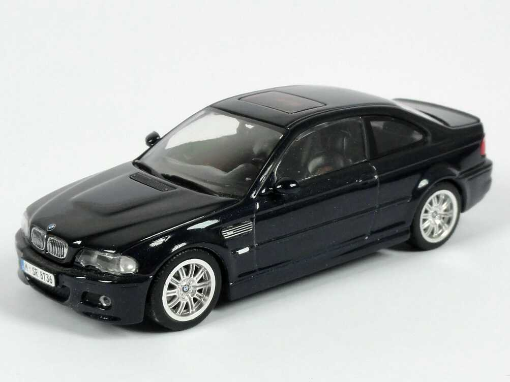 bmw m3 e46 carbon schwarz met werbemodell minichamps. Black Bedroom Furniture Sets. Home Design Ideas