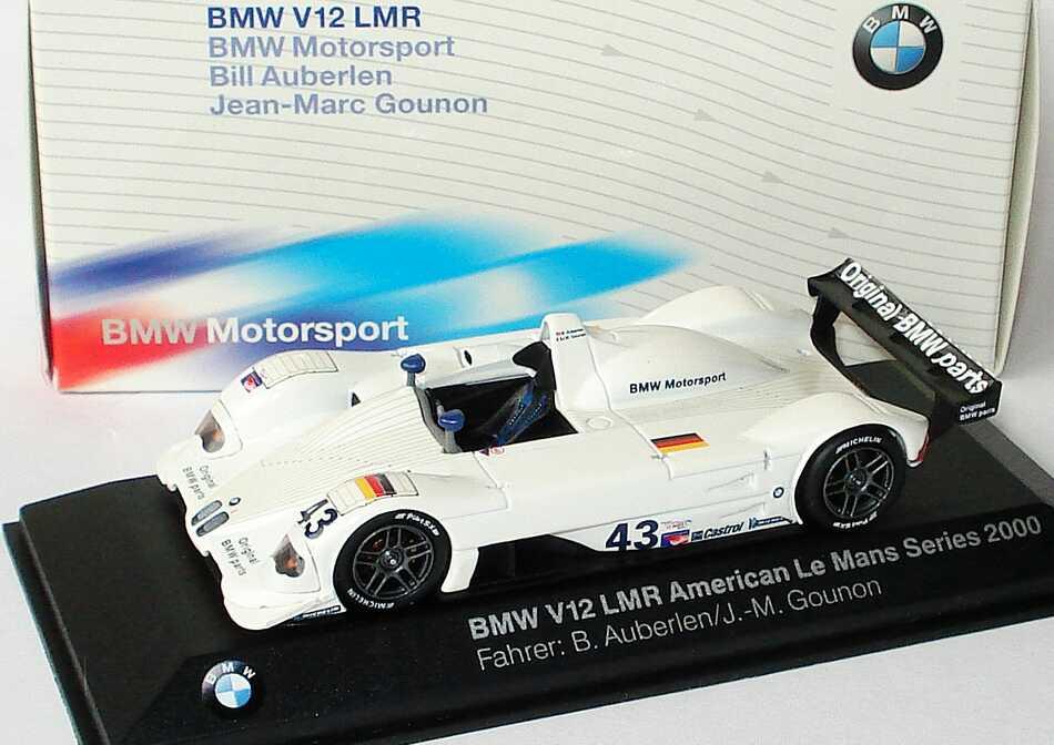 1:43 BMW V12 LMR ALMS 2000 Nr.43, B. Auberlen / J.-M. Gounon (BMW)