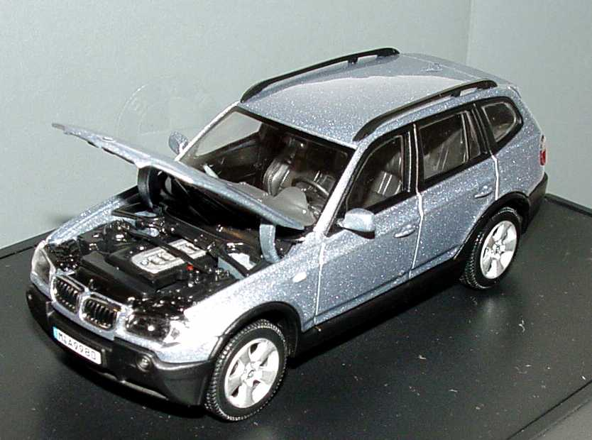 bmw x3 bluewater met werbemodell kyosho 80420300730 bild 2. Black Bedroom Furniture Sets. Home Design Ideas