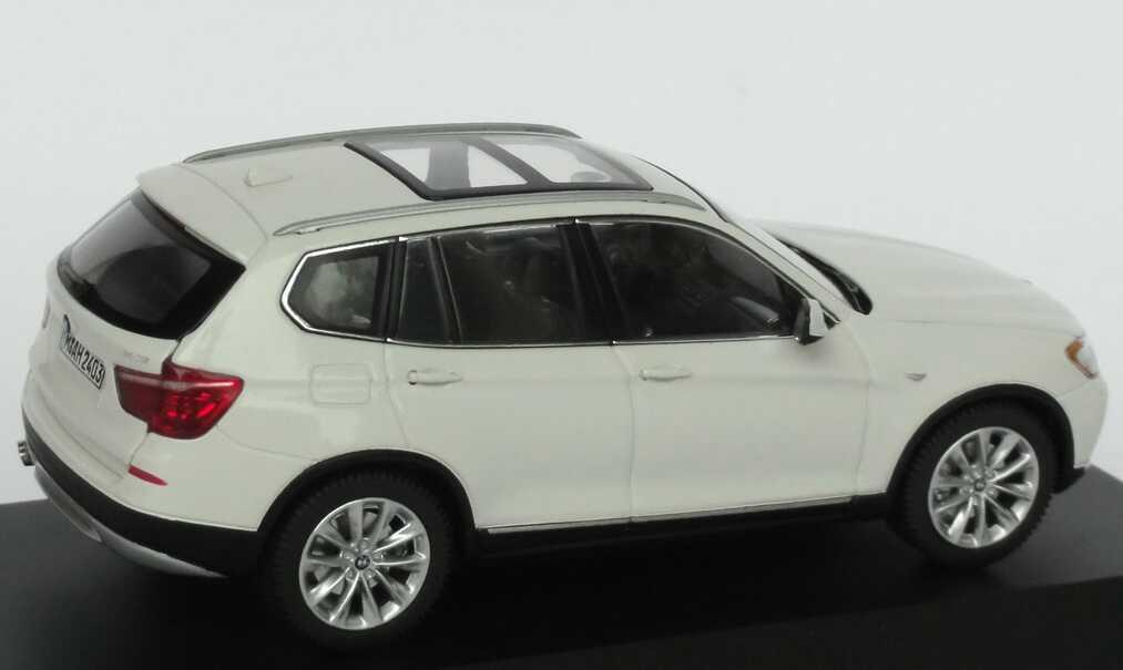 BMW X3 (F25) alpinweiß Werbemodell Schuco 80422162523 - Bild 5