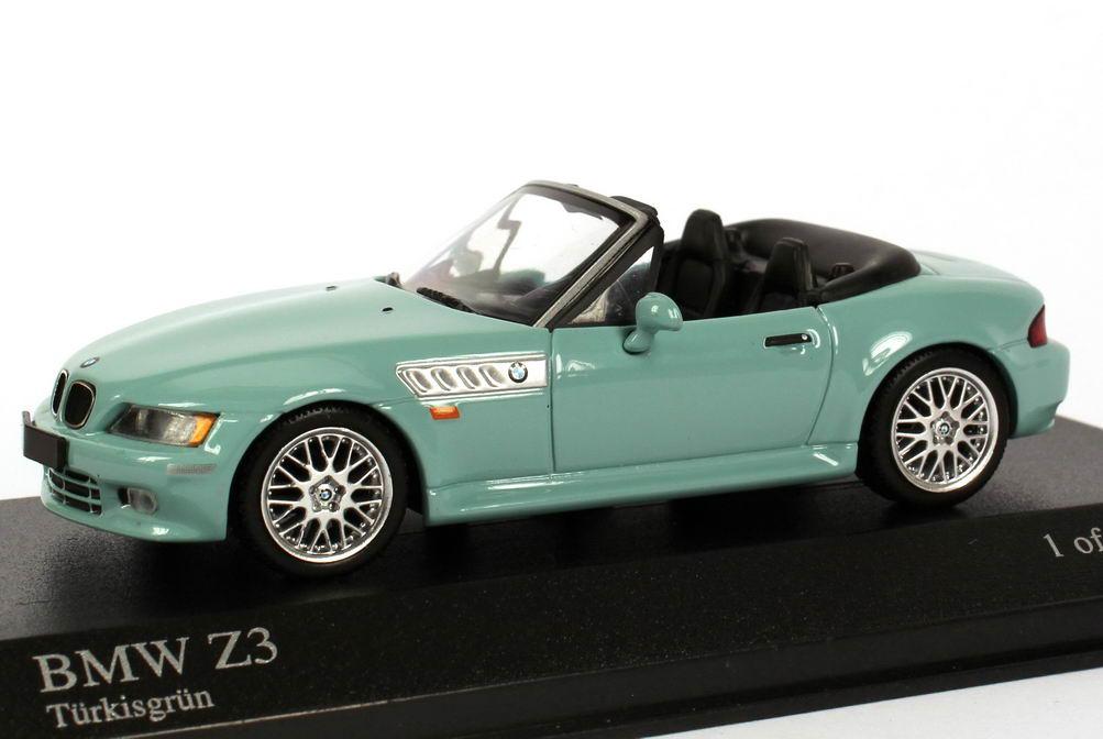 Bmw Z3 Facelift T 252 Rkis Gr 252 N Minichamps 430028236 Bild 3