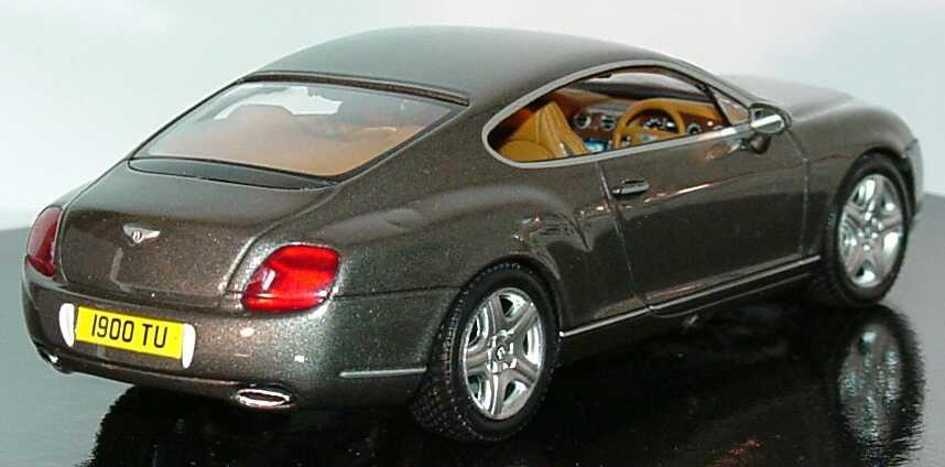 Bentley Continental Gt Cypressgreen Met Werbemodell