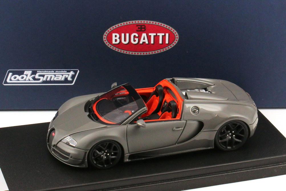 1 43 bugatti veyron 16 4 grand sport vitesse jet grau jet grau matt looksmart. Black Bedroom Furniture Sets. Home Design Ideas
