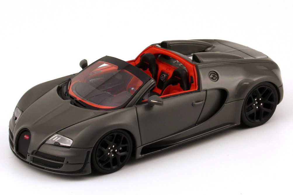 1 43 bugatti veyron 16 4 grand sport vitesse jet grau grey. Black Bedroom Furniture Sets. Home Design Ideas