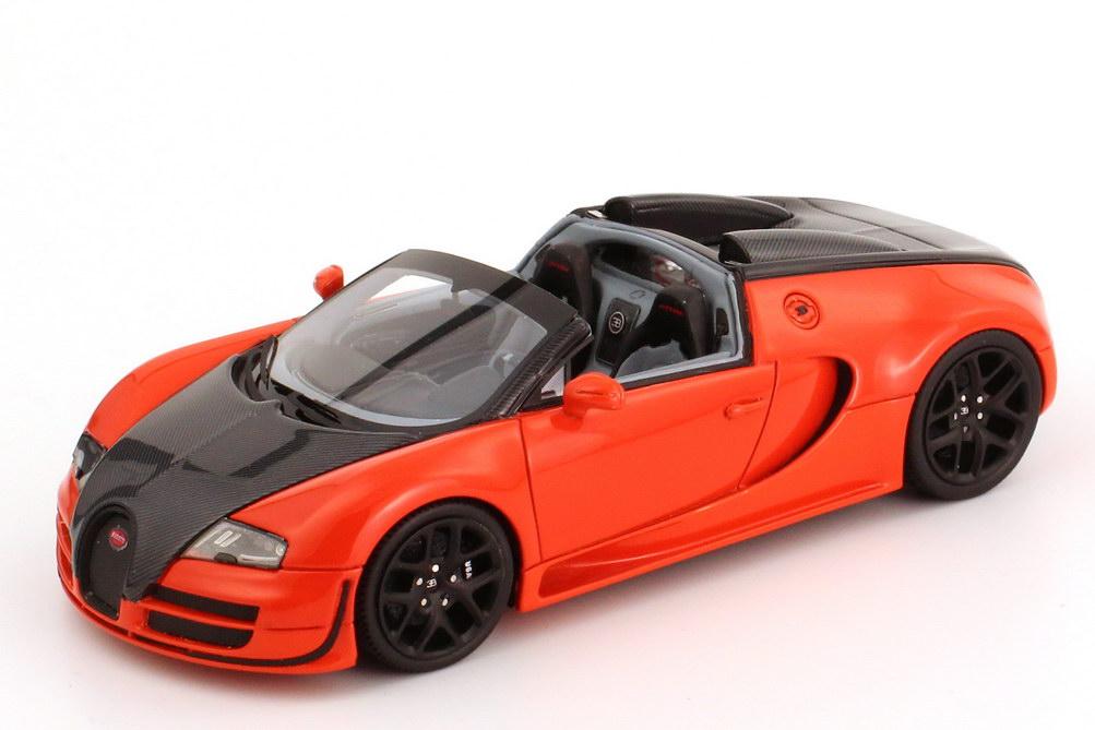 bugatti veyron 16 4 grand sport vitesse orange carbon schwarz looksmart ls396d bild 2. Black Bedroom Furniture Sets. Home Design Ideas