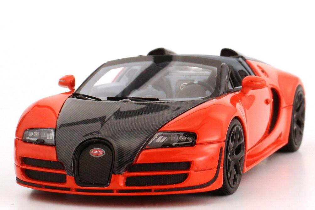 bugatti veyron 16 4 grand sport vitesse orange carbon schwarz looksmart ls396d bild 3. Black Bedroom Furniture Sets. Home Design Ideas