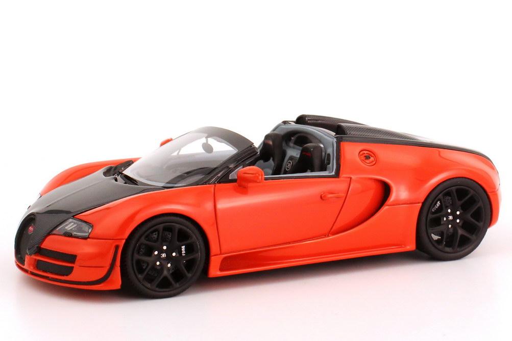 bugatti veyron 16 4 grand sport vitesse orange carbon schwarz looksmart ls396d bild 4. Black Bedroom Furniture Sets. Home Design Ideas