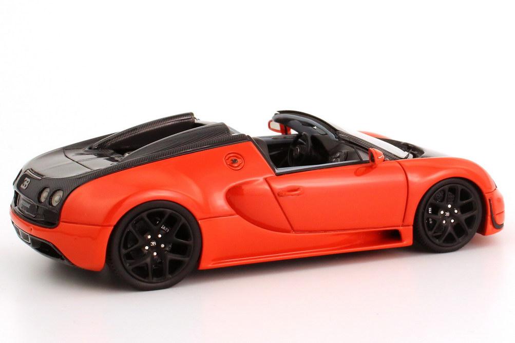 bugatti veyron 16 4 grand sport vitesse orange carbon schwarz looksmart ls396d bild 6. Black Bedroom Furniture Sets. Home Design Ideas