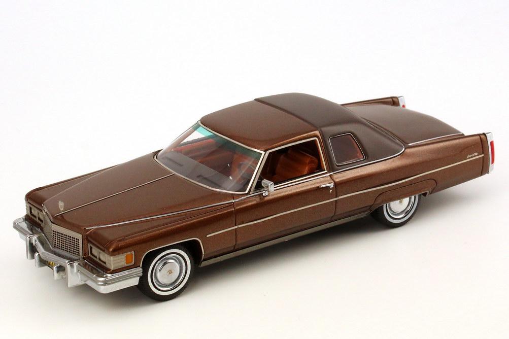 cadillac coupe de ville 1975 braun met neo scale models 44415 bild 2. Black Bedroom Furniture Sets. Home Design Ideas