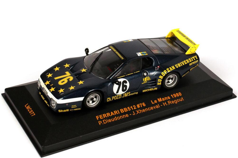 1:43 Ferrari 512BB Le Mans 24h von Le Mans 1980