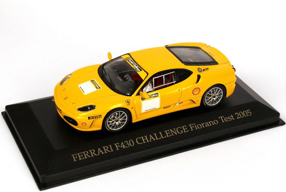 1:43 Ferrari F430 Challenge gelb (Fiorano Test 2005)