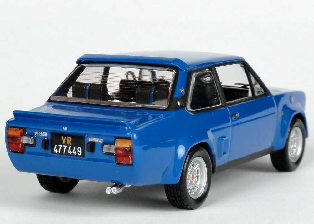 Fiat 131 Abarth Blau Norev 770171 Bild 4