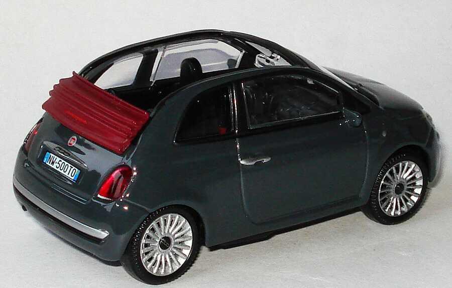 fiat 500c cabrio 2009 dunkelgrau mondo motors 53 126 bild 2. Black Bedroom Furniture Sets. Home Design Ideas