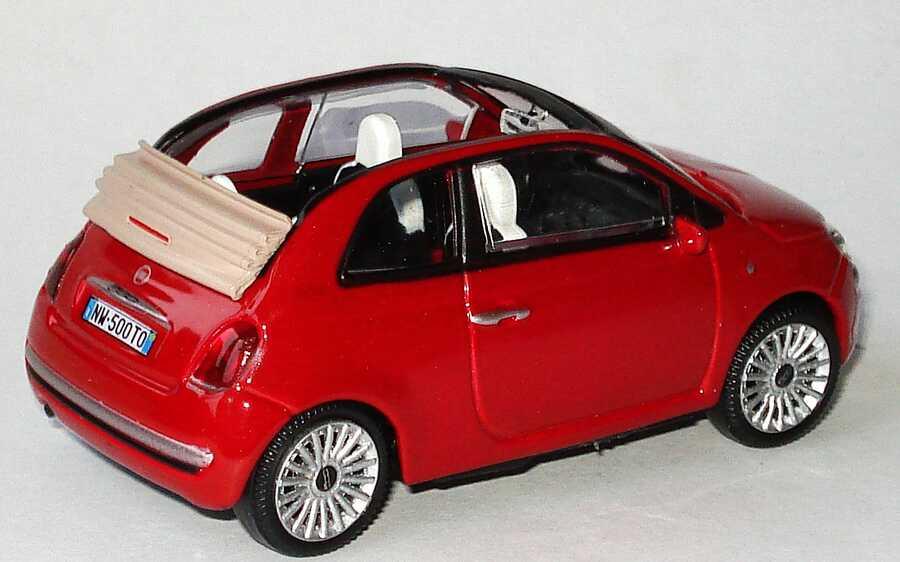Fiat 500c Cabrio 2009 Rot Met Mondo Motors 53 126 Bild 2