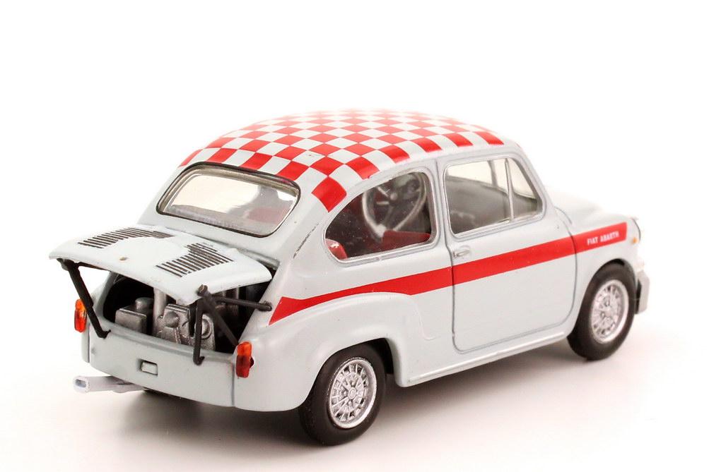 Fiat Abarth 1000 Berlina Corsa 1967 Grau Rot Metro