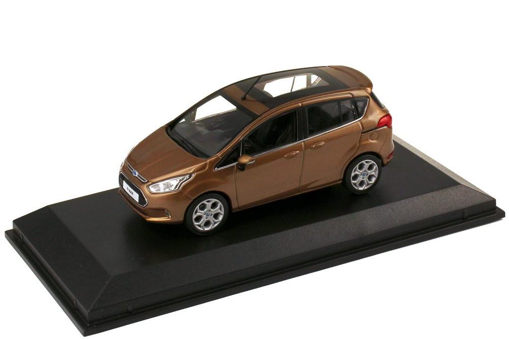 1 43 ford b max 2012 canyon braun brown dealer edition oem. Black Bedroom Furniture Sets. Home Design Ideas