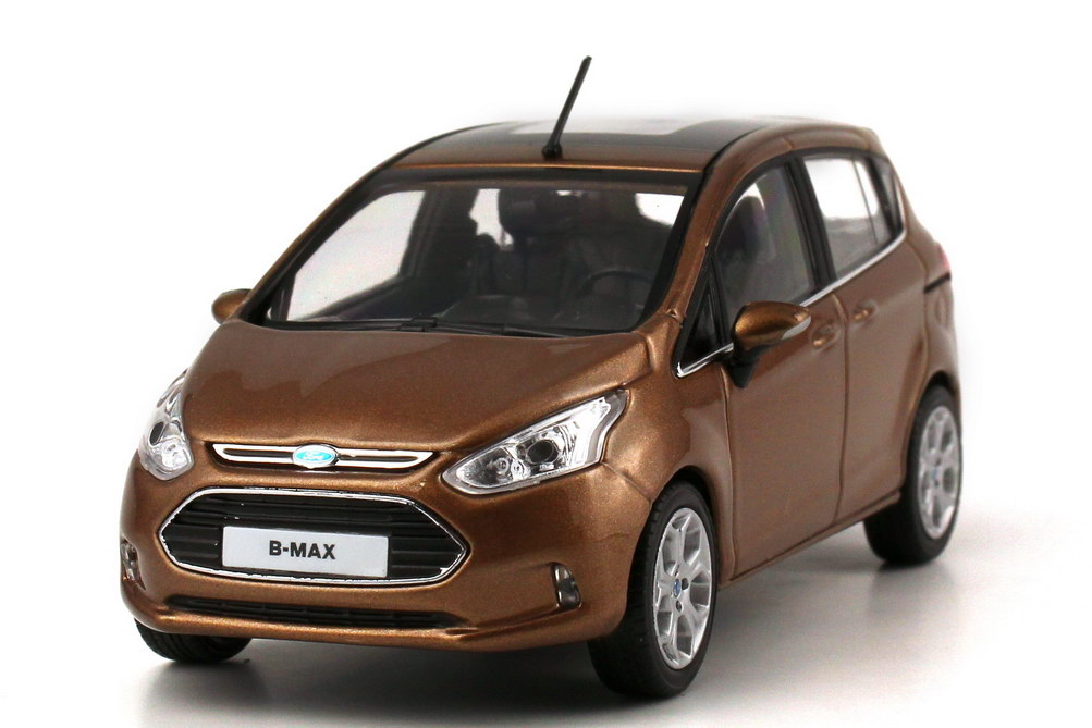 1 43 ford b max 2012 canyon braun brown dealer edition oem ebay. Black Bedroom Furniture Sets. Home Design Ideas