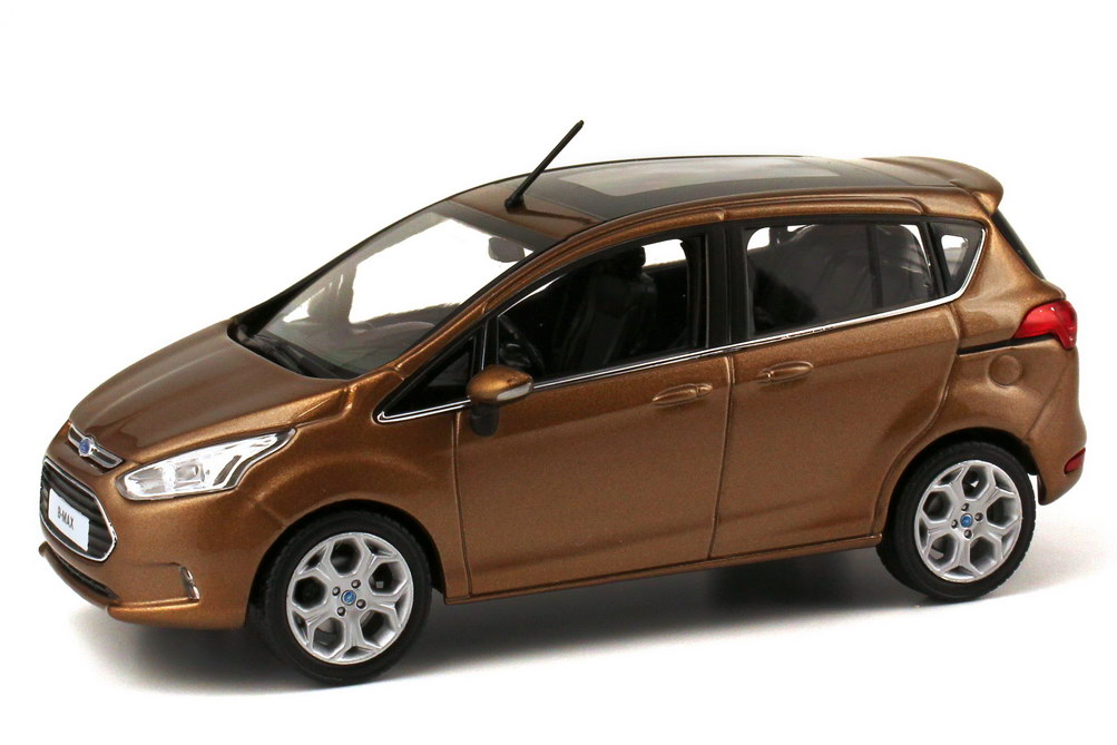 1 43 ford b max 2012 canyon braun brown dealer edition. Black Bedroom Furniture Sets. Home Design Ideas