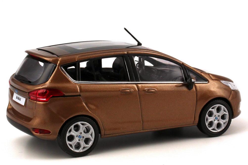 1 43 ford b max 2012 canyon brown brun dealer edition. Black Bedroom Furniture Sets. Home Design Ideas