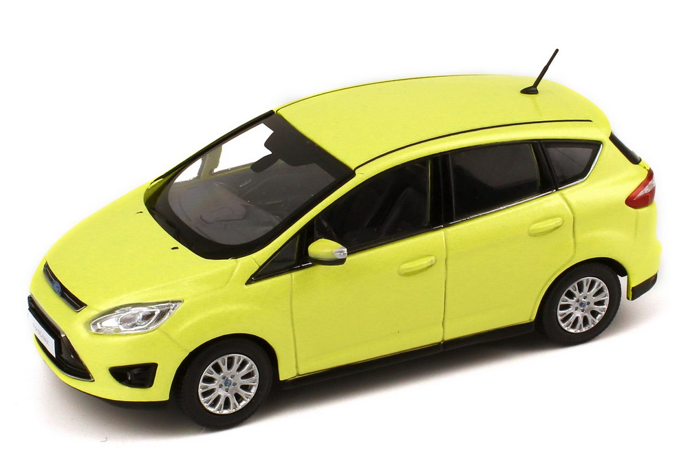 1 43 ford c max 2010 lime lightgreen green dealer edition oem ebay. Black Bedroom Furniture Sets. Home Design Ideas