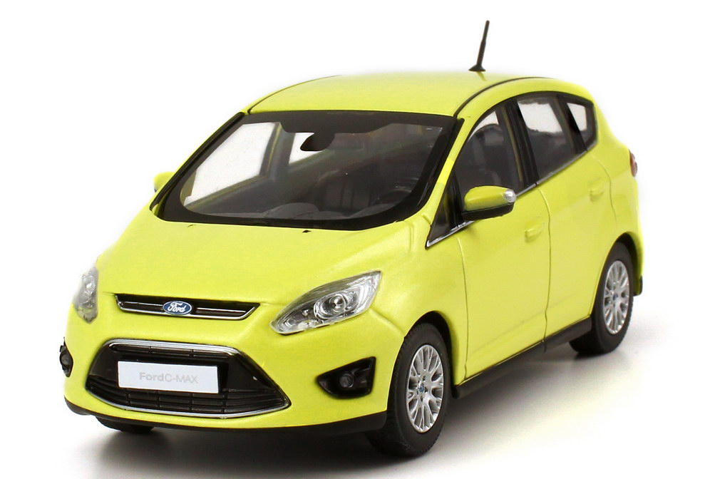 1 43 ford c max 2010 lime lightgreen green dealer edition oem ebay. Black Bedroom Furniture Sets. Home Design Ideas