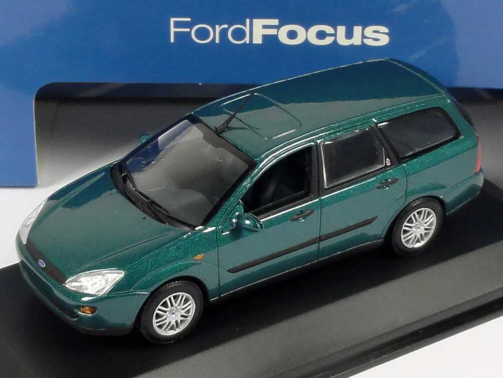 1 43 Ford Focus Turnier Lagunen Gr 252 N Met Werbemodell