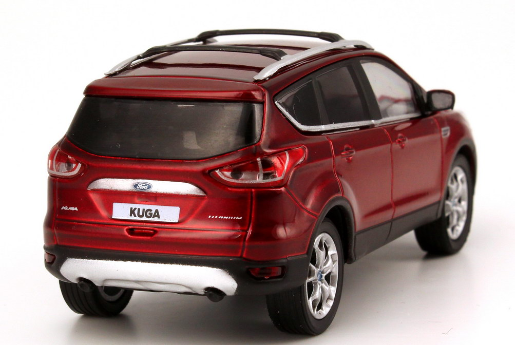 1 43 ford kuga ii 2013 red red metallic dealer edition oem. Black Bedroom Furniture Sets. Home Design Ideas
